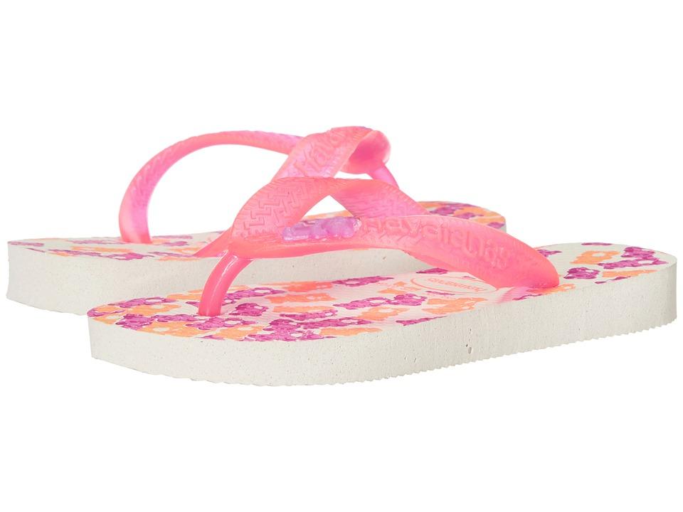 Havaianas Kids Fantasy Toddler/Little Kid/Big Kid White/Pink Girls Shoes