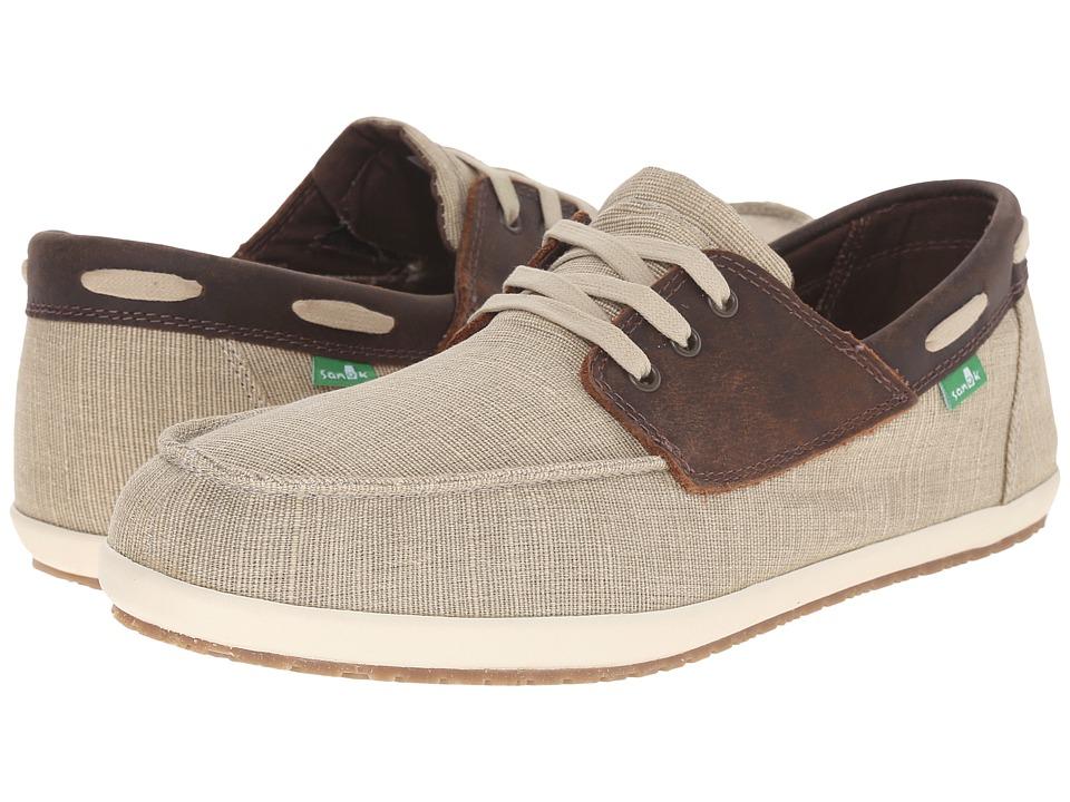 Sanuk Casa Barco Vintage Natural Vintage Mens Lace up casual Shoes