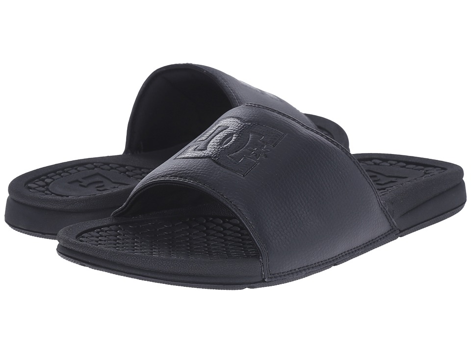 DC Bolsa Black/Black/Black Mens Sandals