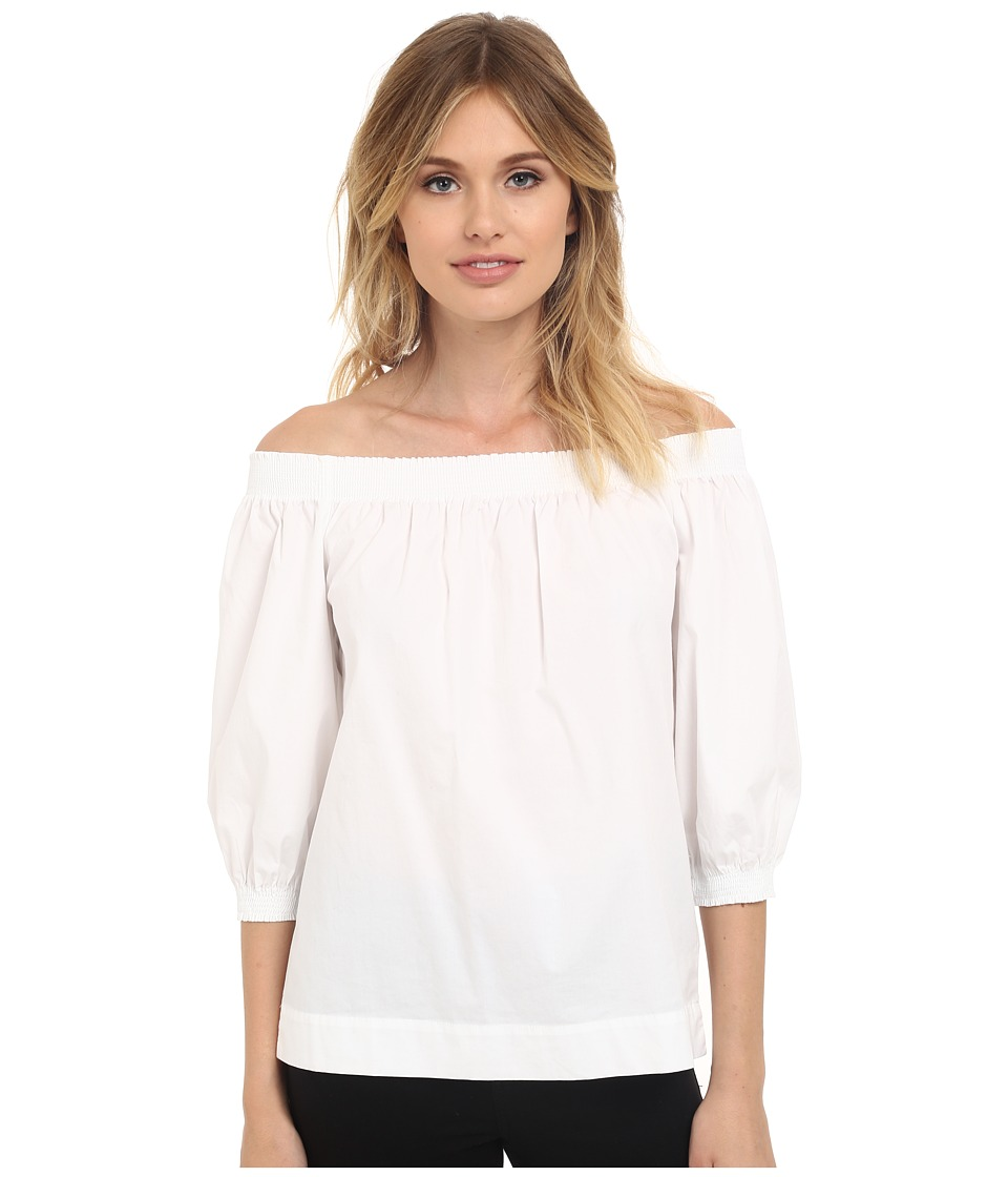 Trina Turk Abella Top White Womens Blouse