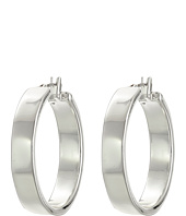 LAUREN by Ralph Lauren - Downtown Chic Large Metal Click-It Hoop Earrings