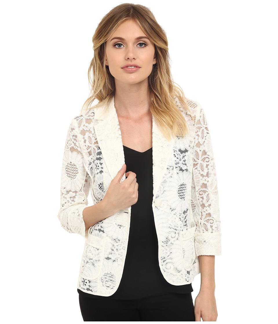 Trina Turk Alvah Jacket Whitewash Womens Jacket