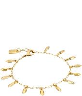 LAUREN by Ralph Lauren - Golden Opulence Metal Nugget Charm Bracelet