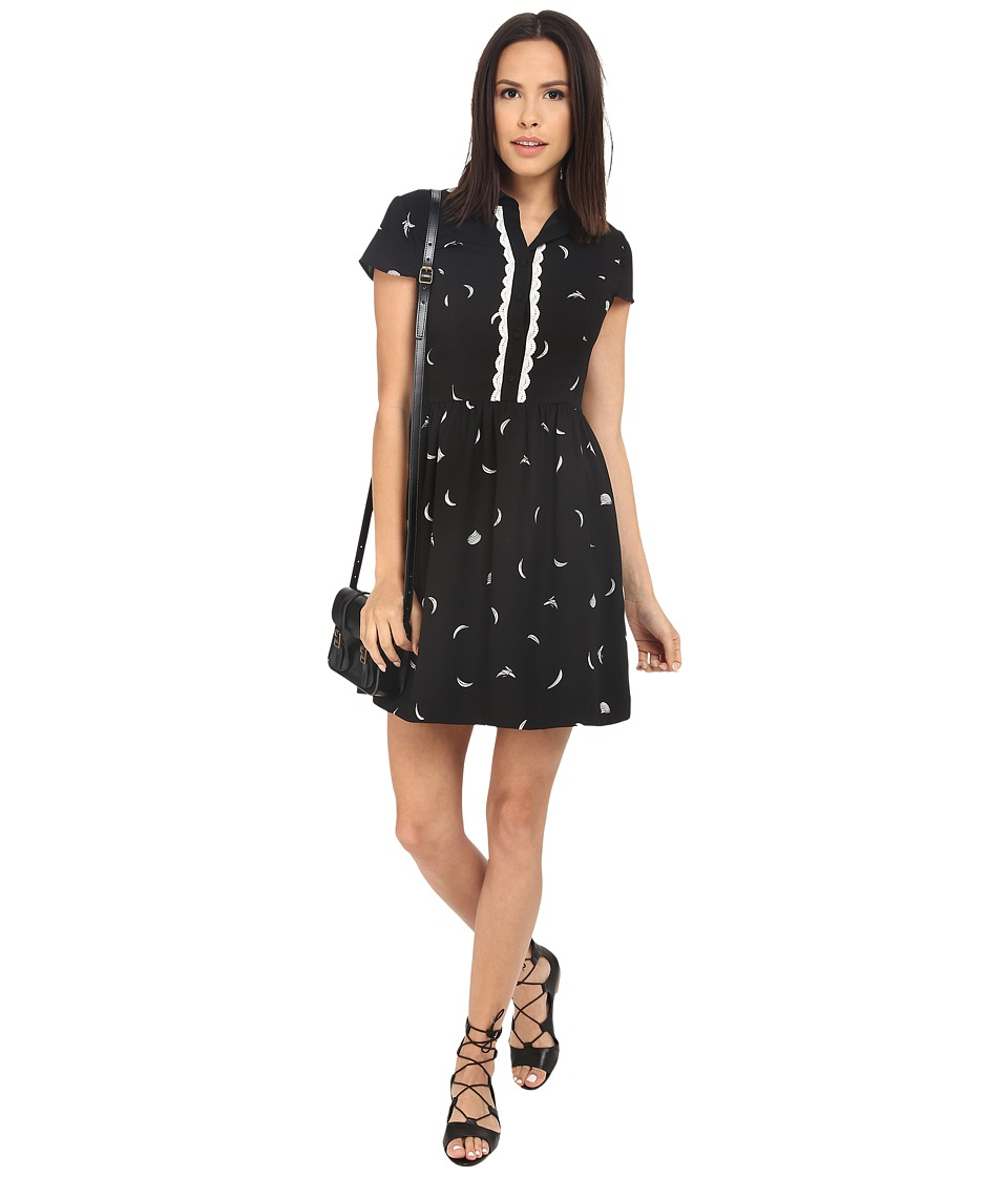 kensie Mini Bananas Dress KS2K7851 Black Combo Womens Dress