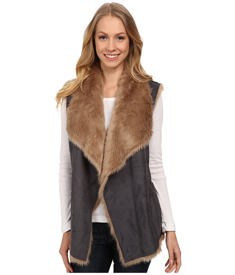NYDJ Bonded Fur Vest