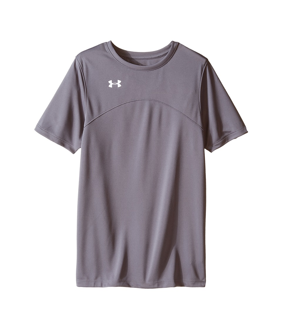 Under Armour Kids - UA Golazo Jersey (Big Kids) (Graphite) Boys Short Sleeve Pullover
