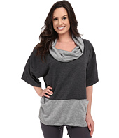 Midnight by Carole Hochman - Lounge Funnel Neck Top