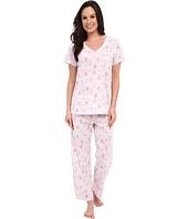 Carole Hochman - Cotton Printed Capris Pajama