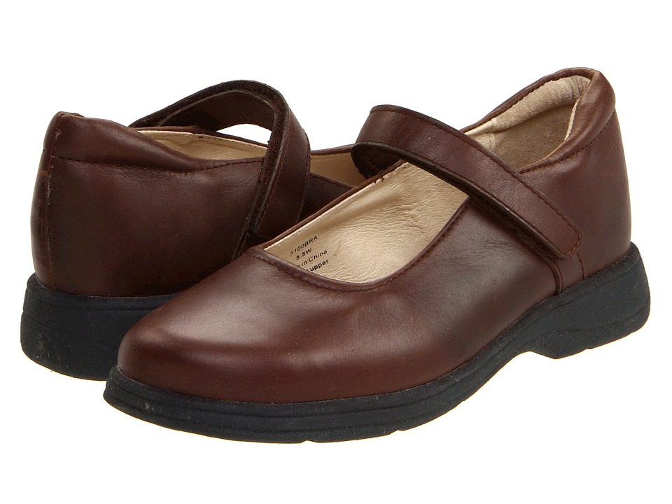 School Issue Prodigy Adult Brown Girls Shoes