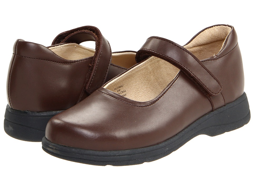 School Issue Prodigy Toddler/Little Kid/Big Kid Brown Girls Shoes