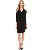 NYDJ - Ruched Side Stretch Crepe Dress