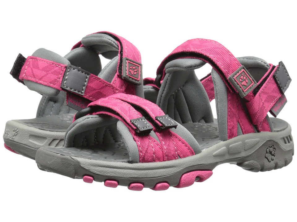 Jack Wolfskin Kids Bahia Toddler/Little Kid/Big Kid Pink Raspberry Girls Shoes