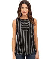 NYDJ - Sleeveless Striped Tee