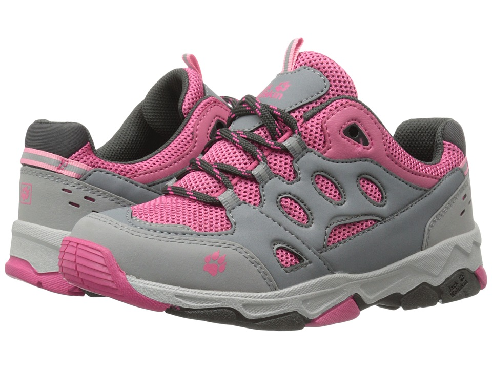 Jack Wolfskin Kids Mountain Attack 2 Toddler/Little Kid/Big Kid Pink Lemonade Girls Shoes