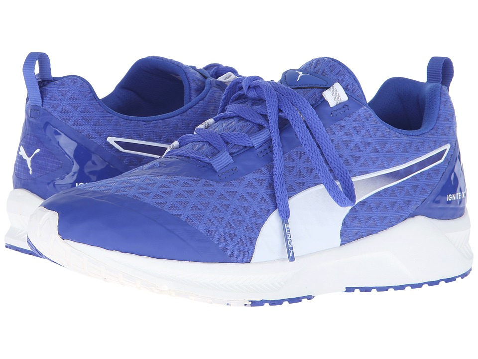 PUMA - Ignite XT Filtered (Dazzling Blue/White) Womens Shoes
