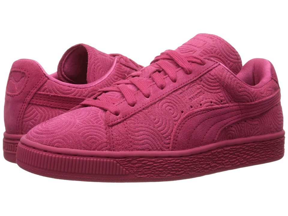 Suede Classic + Colored (Rose Red/Rose Red)