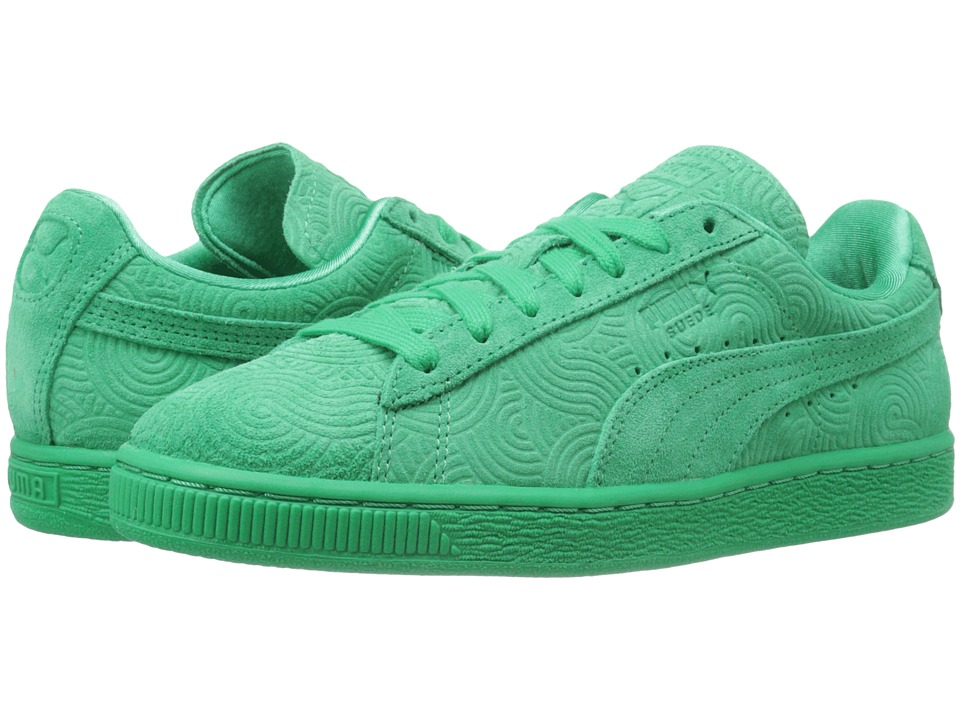 Suede Classic + Colored (Simply Green/Simply Green)