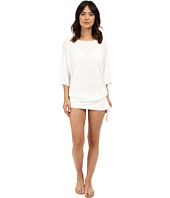 MICHAEL Michael Kors - Chain Solids Side Tie Cover-Up