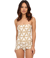 MICHAEL Michael Kors - Luna Long Bar Swimdress One-Piece