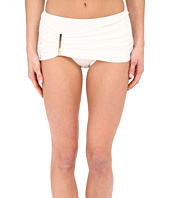 MICHAEL Michael Kors - Draped Solids Long Bar Skirted Bottom
