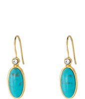 LAUREN by Ralph Lauren - Modern Landscape Oval Stone Drop Earrings
