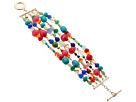 LAUREN Ralph Lauren Fantastic Voyage 5 Row Multi Bead Bracelet