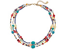 LAUREN Ralph Lauren Fantastic Voyage 5 Row Multi Bead Necklace