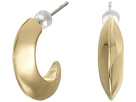 LAUREN Ralph Lauren Luxe Links Small Knife Edge Hoop Earrings