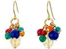 LAUREN Ralph Lauren Fantastic Voyage Multi Bead Cluster Earrings