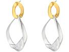 LAUREN Ralph Lauren Retro Links Large Sculptural Link Double Drop Earrings