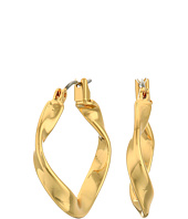 LAUREN Ralph Lauren - Retro Links Small Twisted Hoop Earrings