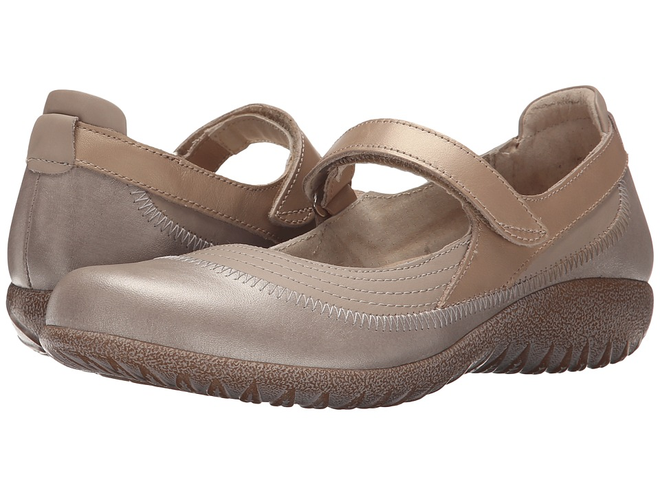 Naot Kirei (Linen Leather/Stardust Leather/Champagne Leather) Maryjanes