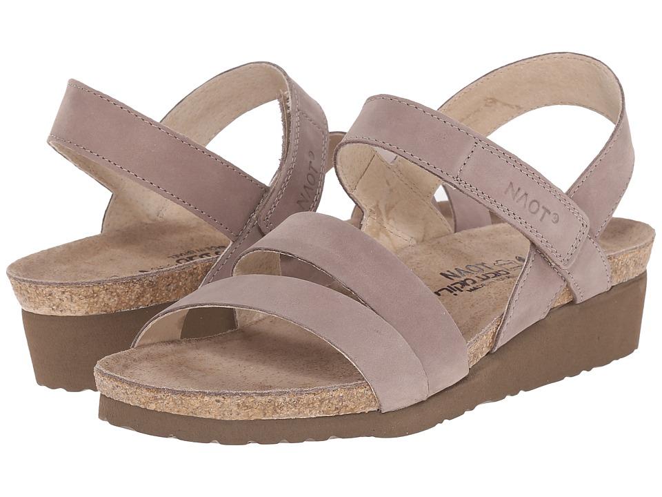 Naot Footwear Kayla (Stone Nubuck) Sandals