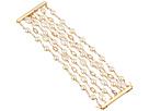 LAUREN Ralph Lauren Pearls Rock 7 Row Organic Pearl Bracelet