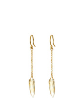 Chan Luu - Citrine Chain Dangle Earrings