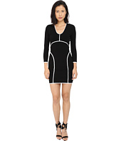 DSQUARED2 - Long Sleeve V-Neck Dress