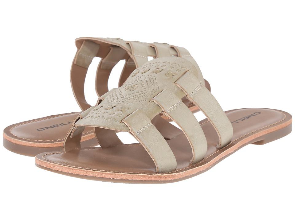 Unique Ou0026#39;Neill Womenu0026#39;s Batida Leather Sandal Flip Flops - SS15 Suede Brown | EBay