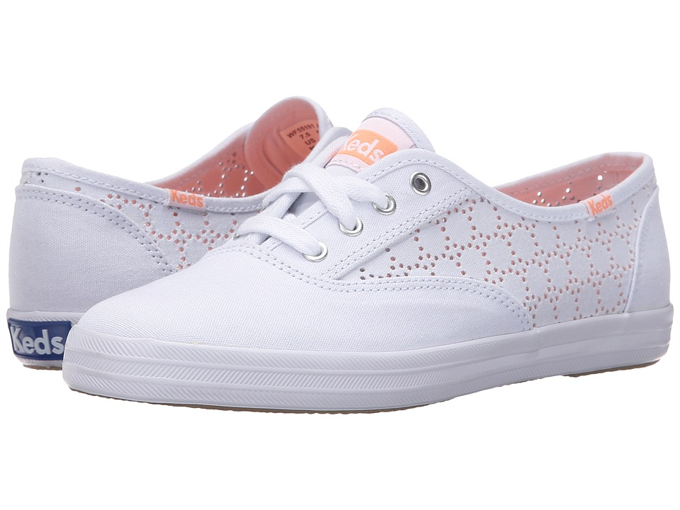 Keds - Champion Perf (White Canvas) Women