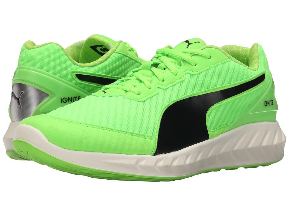 PUMA - Ignite Ultimate PWRCOOL (Green Gecko/Black) Men