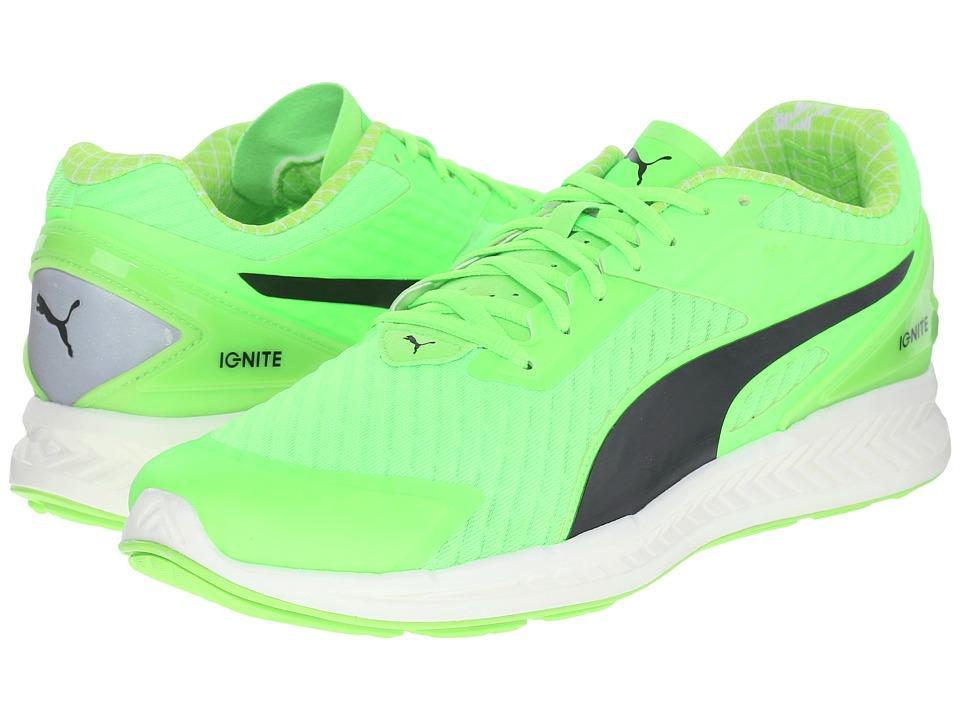 PUMA - Ignite V2 PWRCOOL (Green Gecko/Black) Mens Shoes