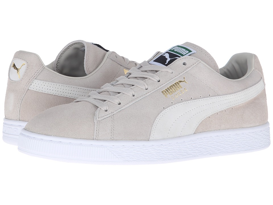 Suede Classic + (Oatmeal/White)