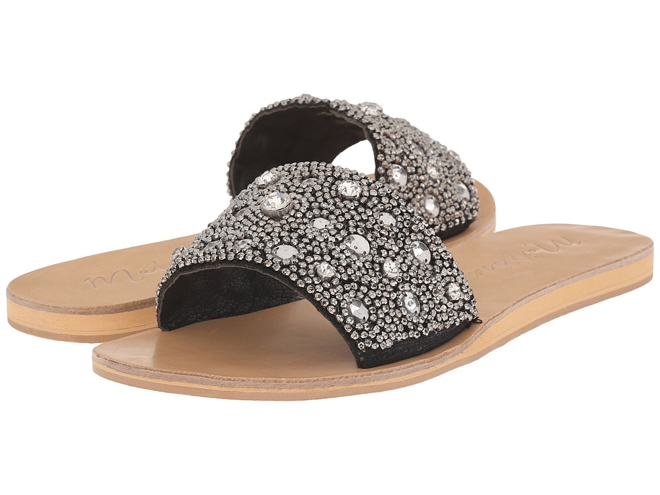 Matisse Cosmo Black Womens Slide Shoes