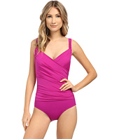 Jantzen - Solids Braided Surplice One-Piece