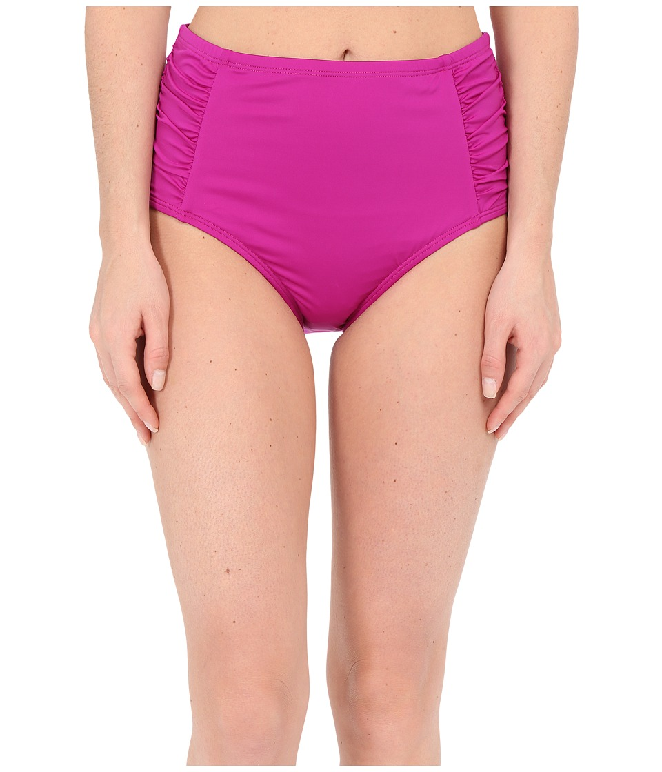 Jantzen Solids High Waisted Bottom Deep Sangria Womens Swimwear
