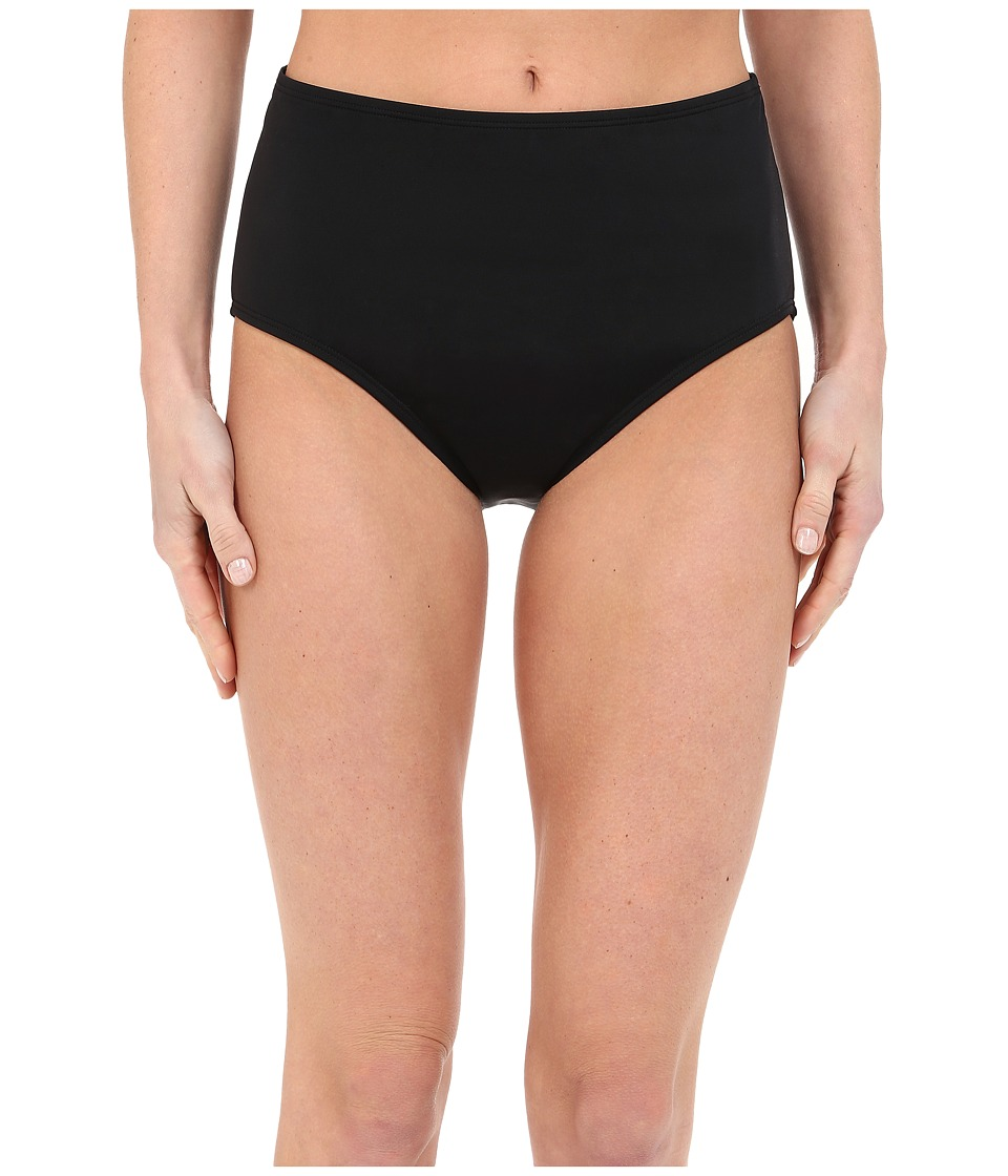 Jantzen Solids Comfort Core Bottom Black Womens Swimwear
