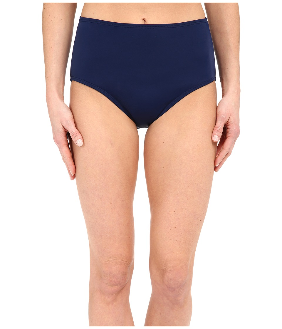 Jantzen Solids Comfort Core Bottom Nocturne Blue Womens Swimwear