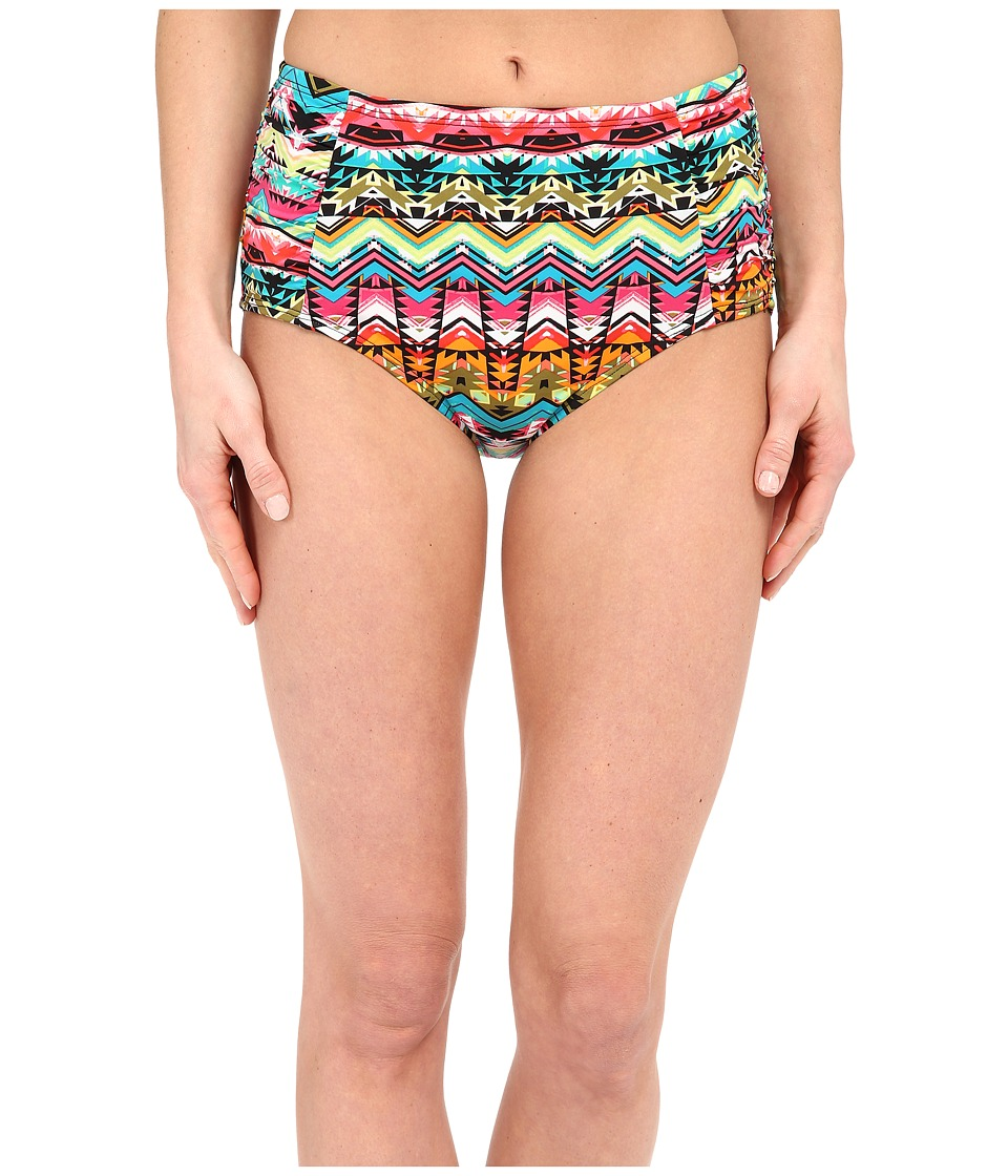 Jantzen Tulum High Waisted Bottom Multi Womens Swimwear