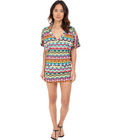 Jantzen - Tulum Shirred Side Tunic Cover-Up