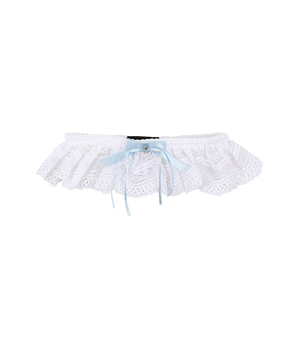 Cosabella Ceylon Bridal Garter CEYBD4241 White Womens Lingerie