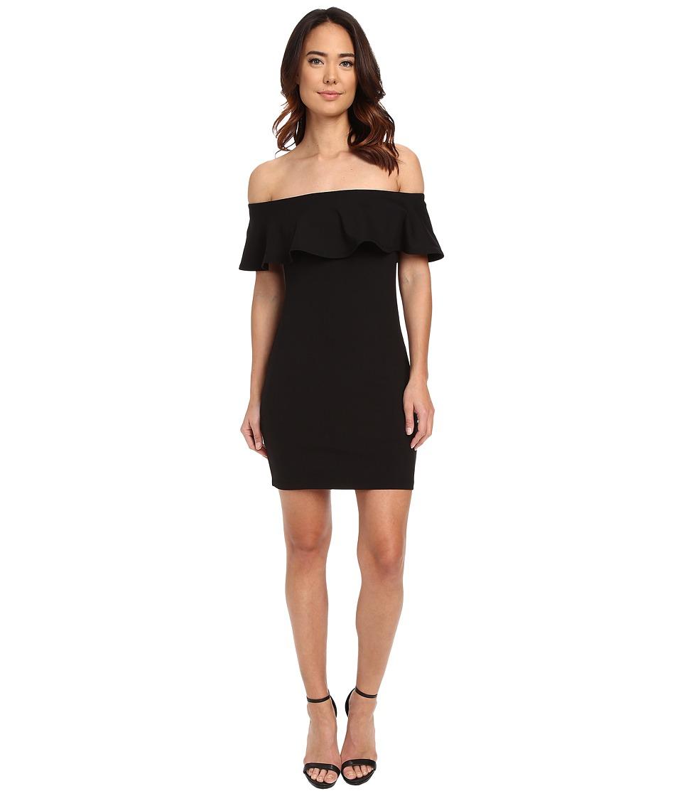 Susana Monaco Hannah Dress Black Womens Dress